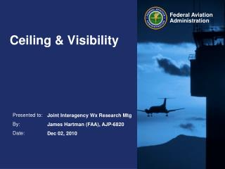 Ceiling & Visibility