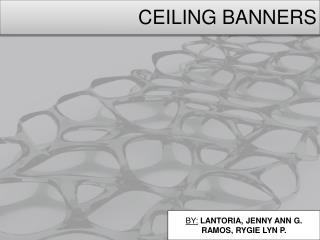 CEILING BANNERS