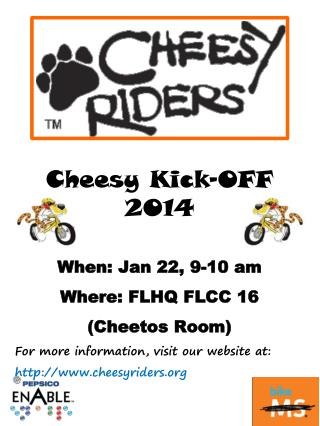 Cheesy Kick-OFF 2014