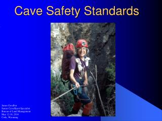 Cave Safety Standards