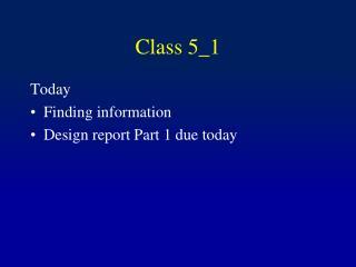 Class 5_1