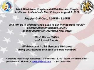AAAA First Friday Notice 8 5 11