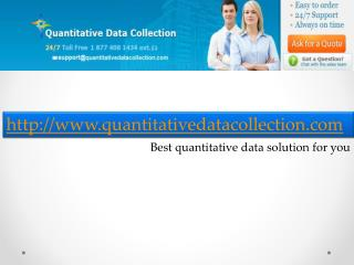 Quantitative Data Collection