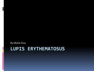 Lupis Erythematosus