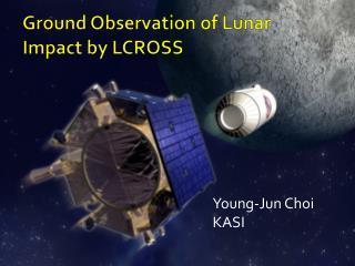 Ground Observation of Lunar Impact by LCROSS