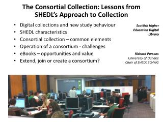 The Consortial Collection: Lessons from SHEDL's Approach to Collection