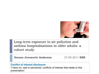 Zorana Jovanovic Andersen               27.09.2011  ERS