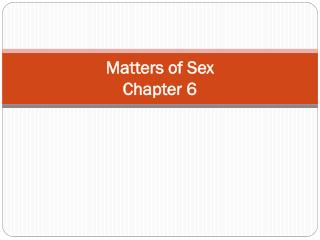 Matters of Sex Chapter 6