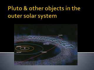 Pluto & other objects in the outer solar system