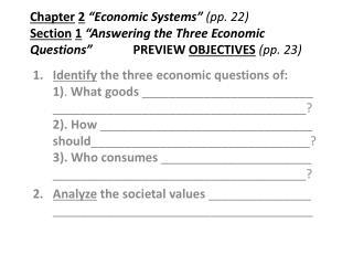 COPY :  Figure 2.2  Economic Goals