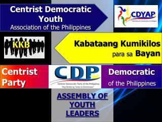 ASSEMBLY  OF YOUTH LEADERS