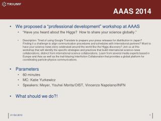 AAAS 2014