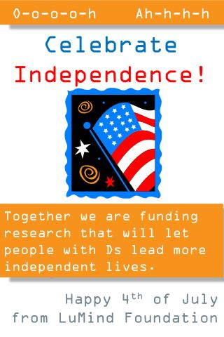 Together we are funding research that will let people with Ds lead more independent lives.