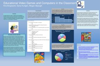 Educational Video Games and Computers in the Classroom