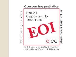 Equal Opportunity Institute  (EOI)