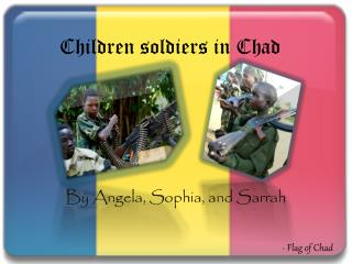 Children soldiers in Chad