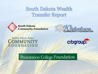 South Dakota Wealth  Transfer Report