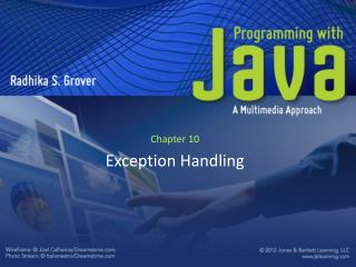 Chapter 10 Exception Handling