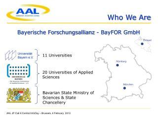 Bayerische Forschungsallianz - BayFOR GmbH