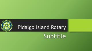 Fidalgo Island Rotary