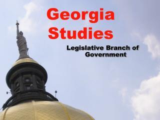 Legislative Branch of Government