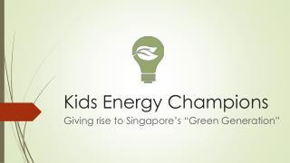 Kids Energy Champions