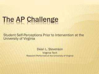 The AP Challenge