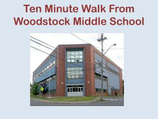 Ten Minute Walk From Woodstock Middle School