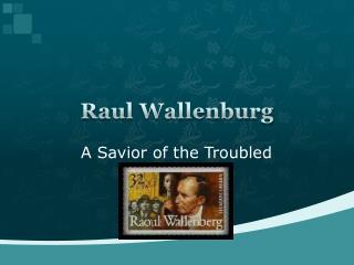 Raul  Wallenburg