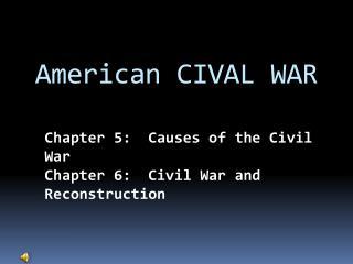 American CIVAL WAR