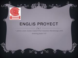 Englis Proyect