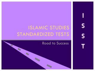 Islamic studies standardized tests