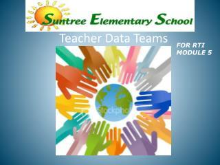 Teacher Data Teams