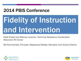 2014 PBIS Conference