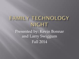 Family Technology Night