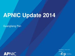 APNIC Update 2014