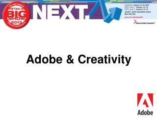 Adobe & Creativity