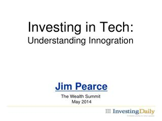 Investing in Tech: Understanding Innogration