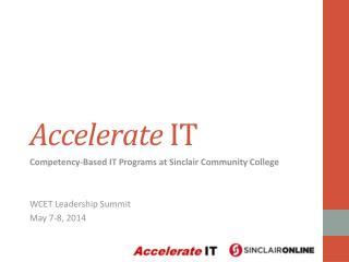 Accelerate  IT