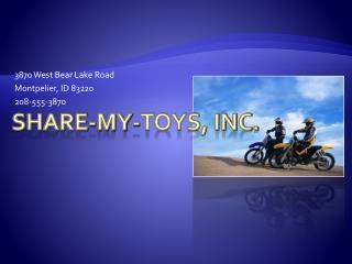 Share-My-Toys, Inc.