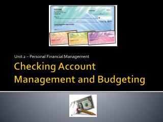Checking Account Management and Budgeting
