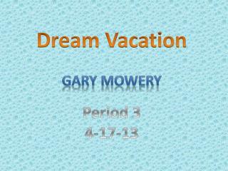 Gary Mowery