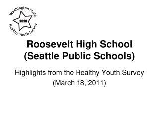Roosevelt High School (Seattle Public Schools)