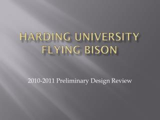 Harding University Flying Bison