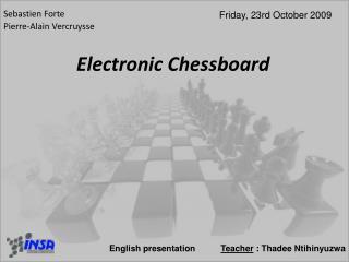 Electronic Chessboard