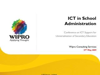 ICT in School Administration