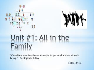 Unit #1: All in the Family