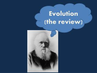 Evolution (the review)