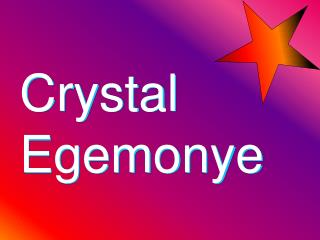 Crystal Egemonye