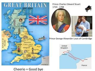 Prince Charles Edward Stuart 1720 - 1788